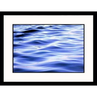 Great American Picture Seascapes Soft Water Waves Framed Photographic Print