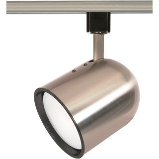 Light Bullet Cylinder Track Head in Brushed Nickel by Nuvo Lighting