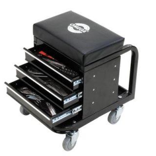 Omega 450 lbs. Mechanic's Toolbox Seat 92450