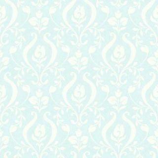 Chesapeake 56.4 sq. ft. Anahi Aqua Forest Fauna Wallpaper HAS01234