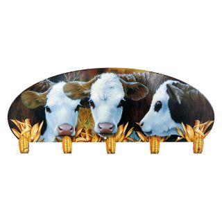 Next Innovations JQ Cows Coat Rack   Outdoor Wall Art