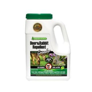 Liquid Fence 5 lb. Granular Deer and Rabbit Repellent HG 265
