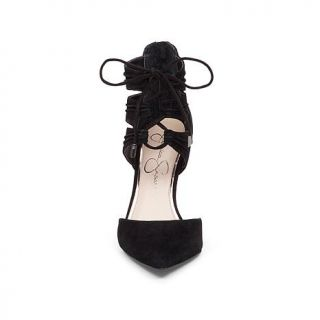 """Jessica Simpson """"Caleya"""" Lace Up Suede Pump   8130109"""