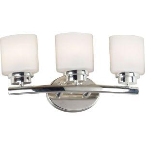 Kenroy Home KEH 03392 Bow Polished Nickel  Bathroom Lighting Lighting