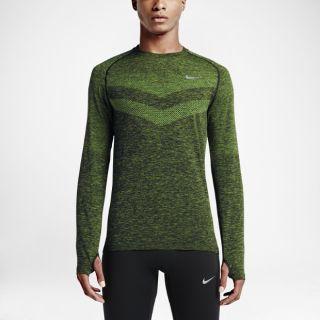 Nike Dri FIT Knit Long Sleeve Mens Running Shirt