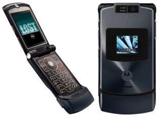 Motorola V3XX Titanium 3G Razr Unlocked GSM Cell Phone
