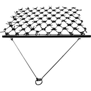 NorTrac Harrow Rake for Cleaning, Leveling Soil and Stimulating Growth — 48 1/2in.W x 64in.L  Category 0 Disc Harrows   Rakes