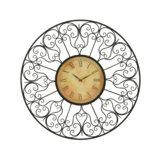 Vintage Styled Metal Outdoor Clock   17288911   Shopping