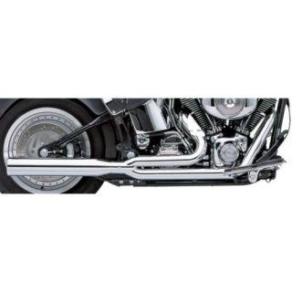 Cobra Power Pro HP 2 Into 1 Exhaust Chrome Fits 04 13 Harley Davidson Forty Eight Dark Custom XL1200X