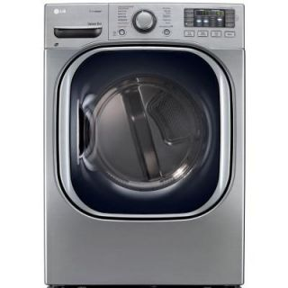 LG Electronics 7.4 cu. ft. Electric Dryer with Steam in Graphite Steel, ENERGY STAR DLEX4270V