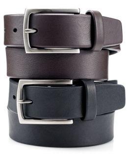 Perry Ellis Leather Casual Belt   Accessories & Wallets   Men