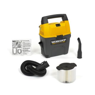 WORKSHOP Wet Dry Vacs WS0300VA Portable 3 Gallon Wet Dry Shop Vacuum
