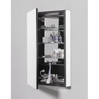 PL Series 15.25 x 30 Recessed Beveled Flat Edge Medicine Cabinet by