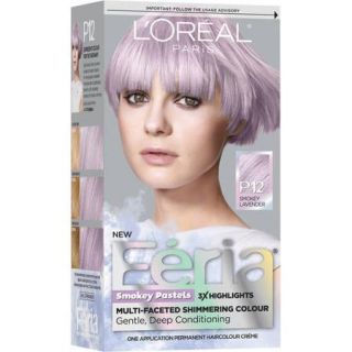 L'Oreal Paris Feria Smokey Pastels Permanent Cream Haircolor Kit