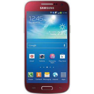 Samsung Galaxy S4 Mini GT I9195I 8GB Smartphone GT I9195 RED