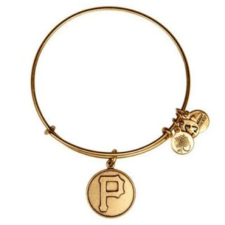 Pittsburgh Pirates Alex and Ani Womens Bracelet   Gold