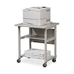 Balt Heavy Duty Multipurpose Machine Stand 27 12 H x 32 12 W x 25 D Gray