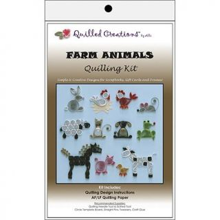 Quilled Creations Quilling Kits   Farm Animals   6551110