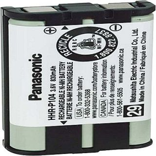 Panasonic HHR P104A Ni MH Cordless Phone Battery