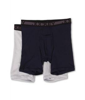 Jockey Cotton Midway Brief True Navy Soft Grey, Clothing, Navy