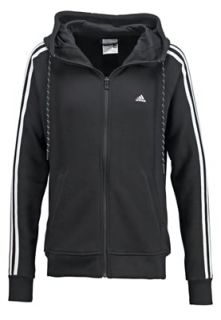 adidas Performance ESSENTIALS   Tracksuit top   black/white