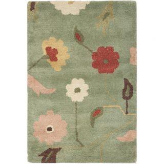 Safavieh Jardin Sage / Multi Floral Rug