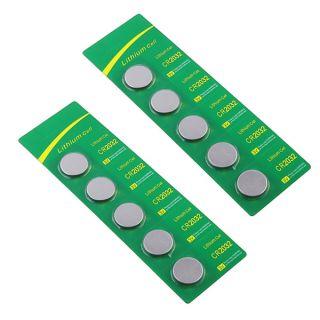 INSTEN CR 2032 5 piece Coin Cell Battery Packs (Set of 2)   12420387