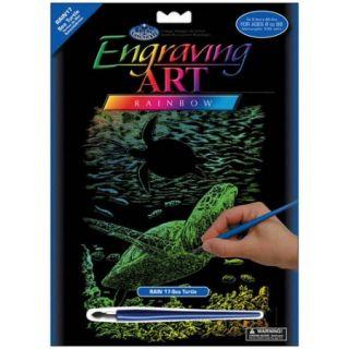 "Rainbow Foil Engraving Art Kit, 8"" x 10"""