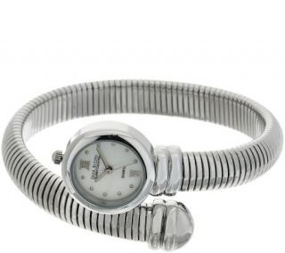 Joan Rivers Tubogas Coiled Wrap Watch —