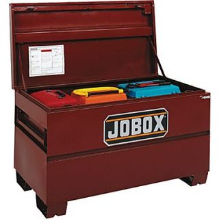 Jobox Site Vault™ Heavy Duty On Site Chest, 27 3/8 in (H) x 60 in (W) x 24 in (D)