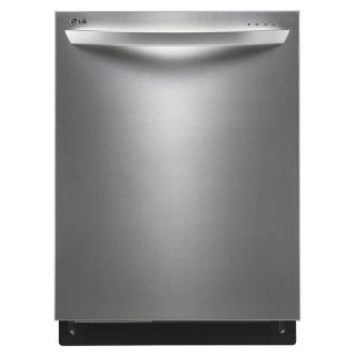 LG 24 in 45 Decibel Built In Dishwasher with Stainless Steel Tub (Stainless Steel) ENERGY STAR