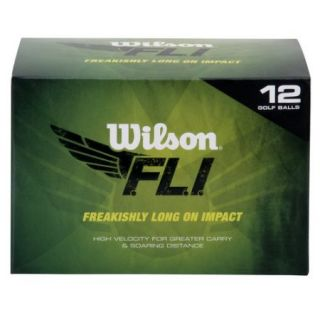Wilson FLI Golf Ball, 12 Pack