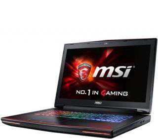 MSI 17 Dominator Pro G Dragon Laptop 32GB, GTX 980, Core i7 —