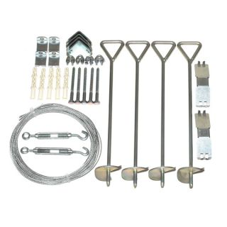 Palram Anchoring Kit for Snap and Grow Greenhouses   16152708