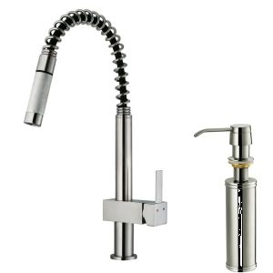 Vigo Industries VG02009STK2 Universal Stainless Steel  Pro Pre Rinse Units Kitchen Faucets
