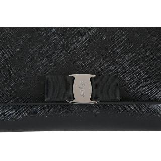 Ferragamo Leather Mini Bag   Black   Salvatore Ferragamo   Handbags
