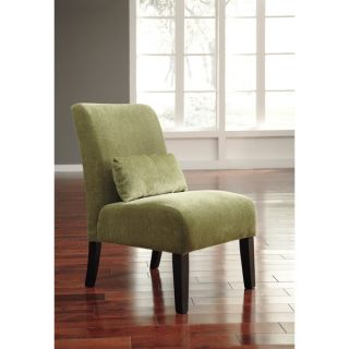 INSPIRE Q Washington Nailhead Roll Back Upholstered Accent Chair with