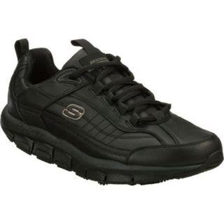 Mens Skechers Shape ups Liv SR Brawny Black   15359815