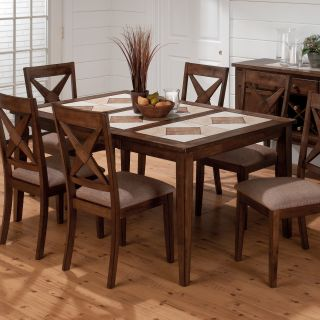Jofran Tucson Tile Top Dining Table   Dining Tables