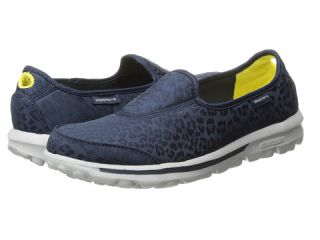 Skechers Performance Go Walk Safari Navy, Shoes, Navy, Skechers