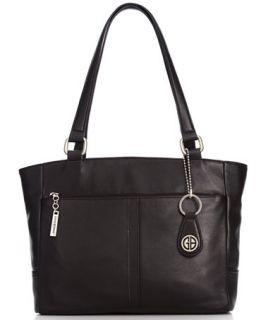 Giani Bernini Nappa Classic Leather Tote   Handbags & Accessories