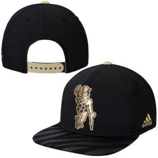 Boston Celtics adidas Precious Metals Adjustable Snapback Hat   Black