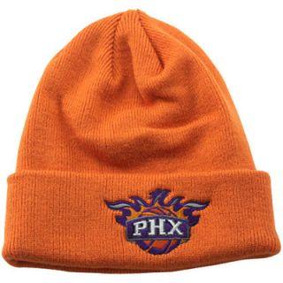 adidas Phoenix Suns Cuffed Knit Beanie   Orange