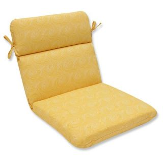 Pillow Perfect Nabil Sunflower Outdoor One Piece Seat And Back Cushion
