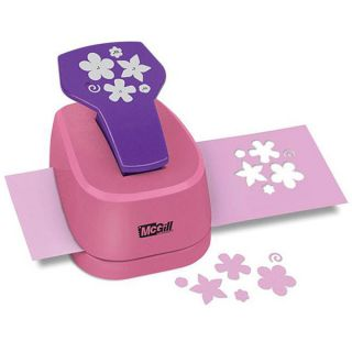 McGill Multi size Petite Petals Perfect Petals Stacking Lever Punch