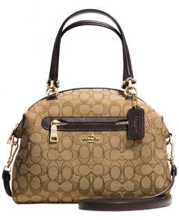 COACH PRAIRIE SATCHEL IN SIGNATURE CANVAS   Handbags & Accessories