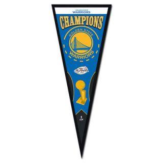 Golden State Warriors 2015 NBA Finals Champions 13 x 33 Pennant Frame