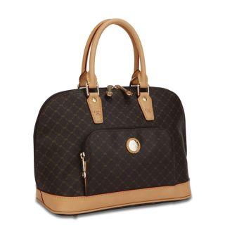 Rioni Signature Dome Handle Handbag   11362395