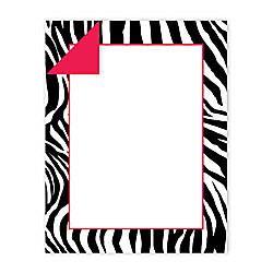 Gartner Studios 2 Sided Design Paper 8 12 x 11  Zebra Stripes Pack Of 50