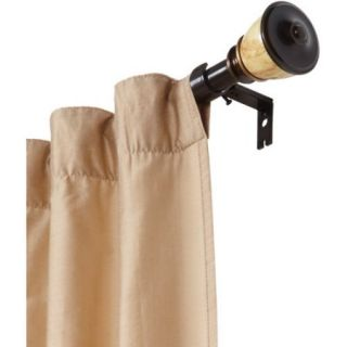 Better Homes and Gardens Marble Urn Curtain Rod, Bronze